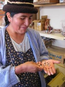 Eugenia con llamitas tilincho pequeño
