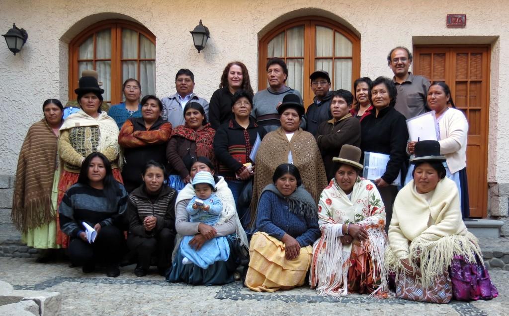 reunion Ayni Bolivia
