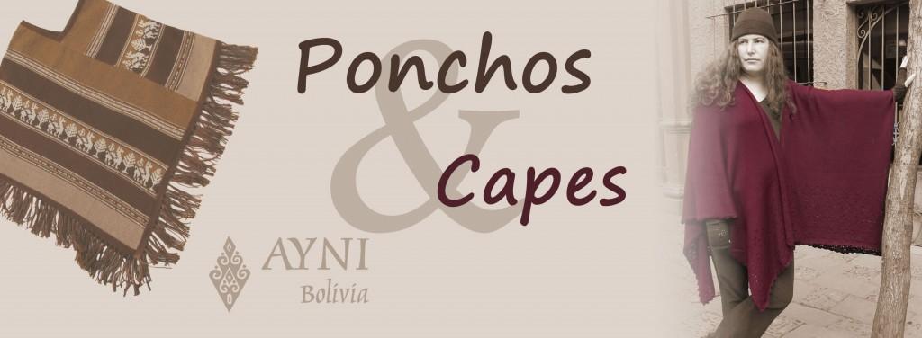 ponchos y capas fair trade alpaca